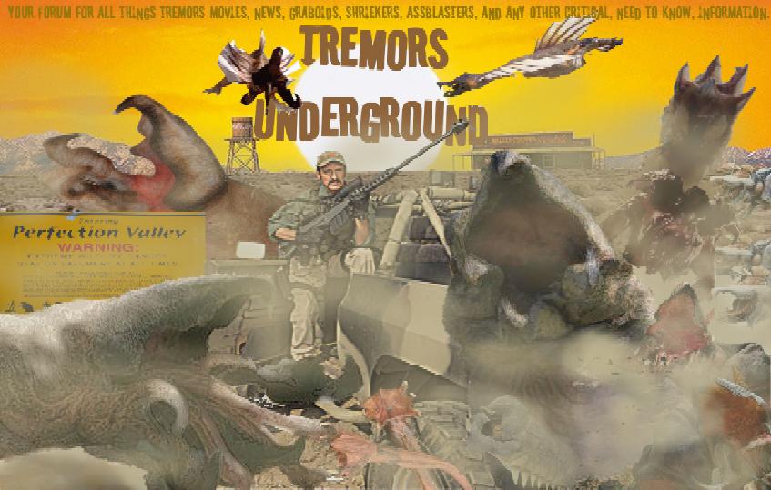 Tremors Underground